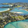 aerial view bermagui accommodation